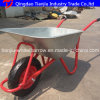 A Ucrânia Zinc-Plated Wheelbarrow Modelo Wb5009