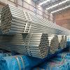 Carbón de ERW soldado alrededor del tubo de acero del andamio de la sección para la construcción