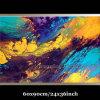 Самомоднейшие картины маслом Abstract Wall Art на Canvas (KLA1-0067)