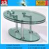 中国のライダーのカウンタートップガラスのためのガラス卸売6-12mmの平らで明確な緩和されたテーブルの上ガラス