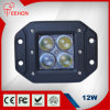 12W CREE Waterproof LED Light para Harvester/Tractor/Truck/Pickup