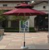 2.7 Parapluie extérieur de jardin de doubles couches de mètres, parapluie de parasol de jardin de Sun