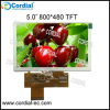 5.0 дюйма 800X480 TFT LCD Module CT050bpl07, Optional с Resistive или Capacitive Touchscreen.