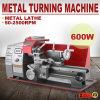 machine de tour en métal modèle de 600W 180mm mini