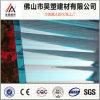 Hoja plástica del producto de la depresión del policarbonato de la Gemelo-Pared del precio de descuento