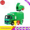 教育緑のモデル公共のごみ収集車のおもちゃ