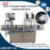 Macchina di coperchiamento automatica delle doppie teste Qdx-2 per l'essenza della pulitrice