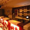 Hot Club de vente haut brillant LED comptoir de bar design commercial