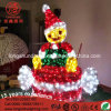 LED 220V Elf Curta Stick Luz decorativa decorativas de Natal no exterior