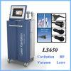 Vide de la cavitation Ls650 amincissant la machine de beauté du laser rf de Lipo
