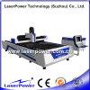 Cortadora económica del laser de la fibra del CNC del acero de manganeso 500W de Laserpower