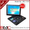 11.3  DVD portables Player+MPEG4+Divx+VGA Gato (monitor) de la PC +USB