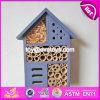 신제품 Handmade 꿀벌 집 자연적인 나무로 되는 곤충 집 W06f029