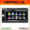 Coche DVD de Dos-ESTRUENDO de 6.2 pulgadas con Bluetooth Rds, GPS, DVB-T (opcional) (HM-6903G)