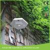 Luz plástica solar ao ar livre do sensor da parede do jardim do diodo emissor de luz de PIR