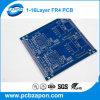 青いカラーPCB Fr4の物質的で安い価格中国製