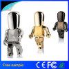 자유로운 로고 대중적인 금속 로봇 USB 섬광 드라이브 16GB