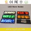 LED rouge programmable Balise du nom de défilement d'un insigne le déplacement signer rechargeable
