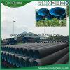 Tubos plásticos de tubería corrugada de pared doble PE