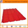 Прочный красный покрытый лист плитки крыши металла стальной
