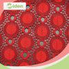 Платье красного цвета промотирования продукта яркое делая Tulle зашнуровать ткань