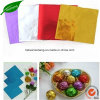 Шоколад упаковка фольги алюминиевой фольги для шоколада упаковка бумаги