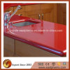 Rode Stevige Countertop van de Keuken van de Steen van de Oppervlakte Kunstmatige met Lijst