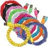 Пригонки кабеля данным по Aaaquality Nylon поручая для iPhone 5s6s6sp7p8p