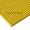 Высокопрочная вогнутая решетка верхней части FRP, Anti-Slip, квадратная сетка 20*20mm