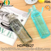 портативная пластичная бутылка воды брызга 550ml (HDP-0627)