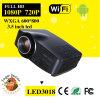 1500 lumens Mini DEL Support 1080P Ultra Short Throw Projector