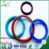 Caucho de silicón, caucho de FKM, negro, anillos o verdes para el lacre