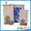 Bolsa de papel del caramelo de Cusotm de la alta calidad con la impresión de la insignia