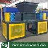 Recicl o granulador poderoso do eixo de Containertwo do saco do cilindro plástico de borracha/película plástica