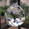 Maschinen-Schnitt-Kristallglas-Leuchter-Kugel-hängende Beleuchtung-Zubehör