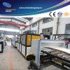 Ligne d'extrusion de profil de machine de fabrication de plat de pincement de PVC
