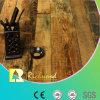 Geprägter Eichen-V-Grooved lamellenförmig angeordneter Fußboden der Werbungs-12.3mm HDF AC4