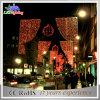 Lumière extérieure d'horizons de décorations de rue de Noël DEL de décoration