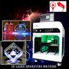3D 수정같은 Laser 조각 기계, 최신 판매