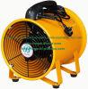Ventilador de aire portátil de 250 mm en color naranja