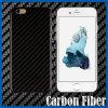 Negro Chapado de fibra de carbono del estuche rígido para el iPhone 6 Plus