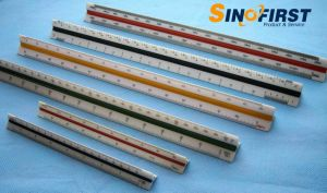 Triangular Scales Ruler Aluminum Ruler pictures & photos