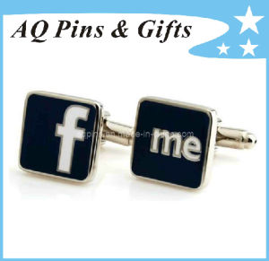 Cuff Link with Hard Enamel pictures & photos