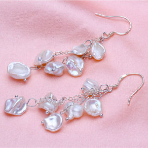 8-9mm Keshi Pearl Earrings pictures & photos