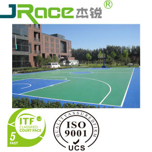 Silicon PU Antislip Outdoor Indoor Sport Surfacer pictures & photos
