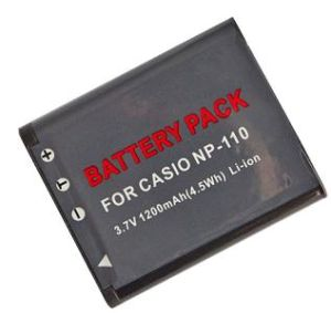 Digital Camera Battery/Camcorder Battery for Casio (NP-110)