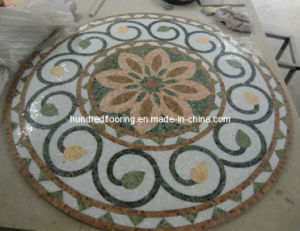 Stone Mosaic Marble Mosaic Pattern Floor Tile (ST116) pictures & photos