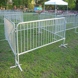 Road Control Barrier Temporary Fencing for Crowd