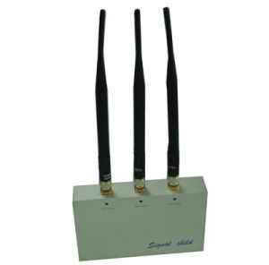 Cell Phone Jammer with Remote Control (CDMA, GSM, DCS and 3G)