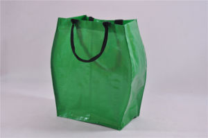 PP Webbing Handle Shiny Lamination PP Woven Bag /Sand PP Woven Bags pictures & photos